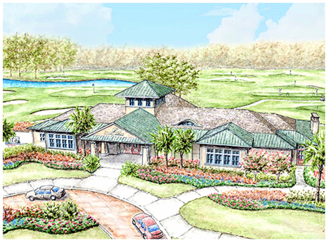 Golf Course Clubhouse
